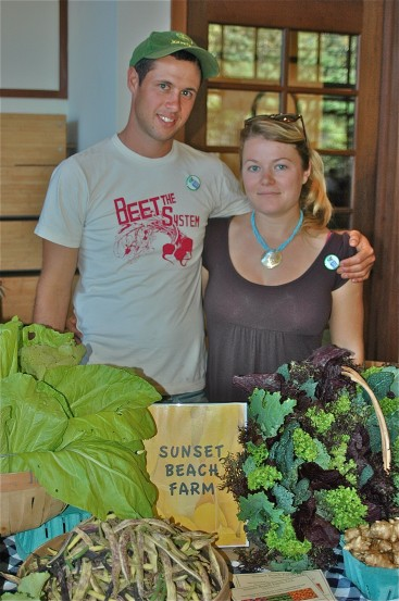 Jonathan Wagner, Karin Bellemare (Sunset Beach Farm)