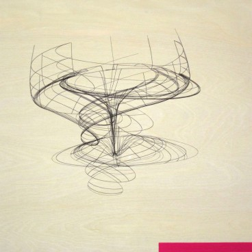 Wireframe with Magenta Rectangle