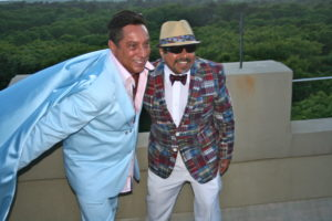 Sir Ivan (Mr. Peaceman) and Eddie Muentes, Photo: Oliver Peterson