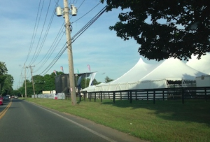 AFTEE Nile Rodgers Concert Tents