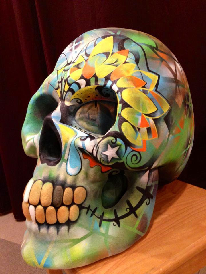 Big Head Skull by Jack Laroux