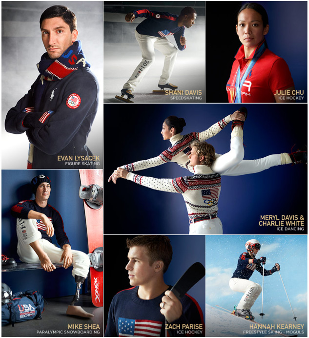Ralph Lauren's 2014 Winter Olympics Collection on ralphlauren.com