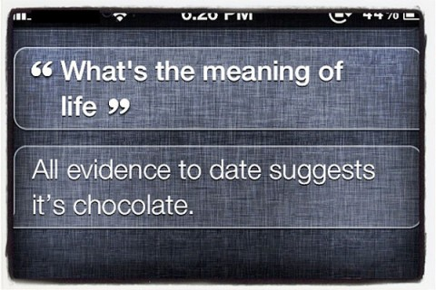 Siri Chocolate joke