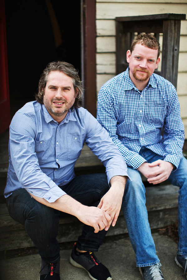 Sag Harbor Rum creators Jason Laan and Mike McQuade