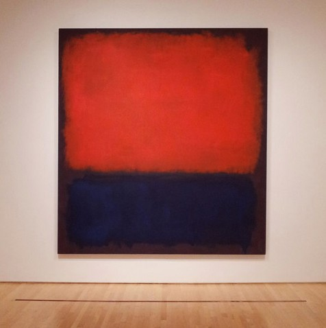 "Mark Rothko's ""No. 14"" at SF Moma"