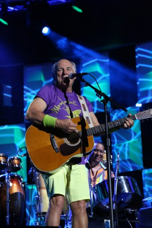 """Jimmy Buffet on """"The Tonight Show."""""""