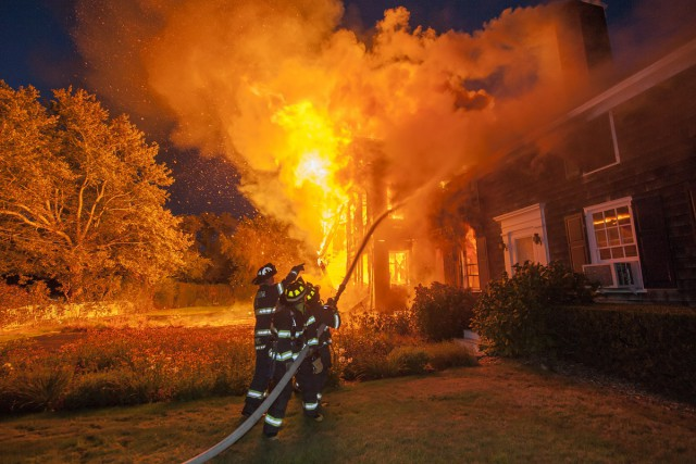 Hearthstone Inn in Sagaponack Sagg Main Street destroyed in Fire