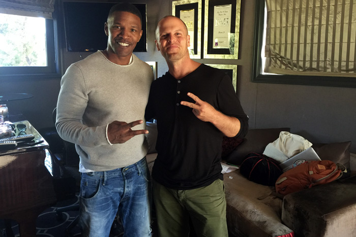 Jamie Foxx and Tim Ferriss