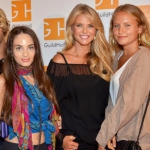 Christie Brinkley and her children at Guild Hall