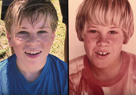Robert and Steve Irwin compared on NBC's The Tonight Show