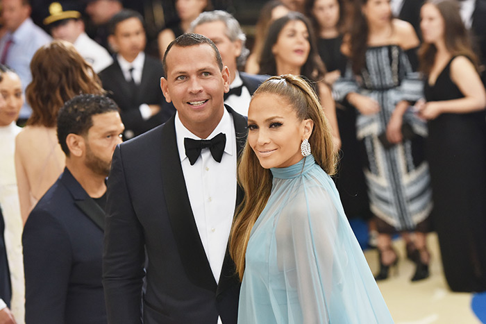 Jennifer Lopez and Alex Rodriguez2 at the 2017 Met Gala