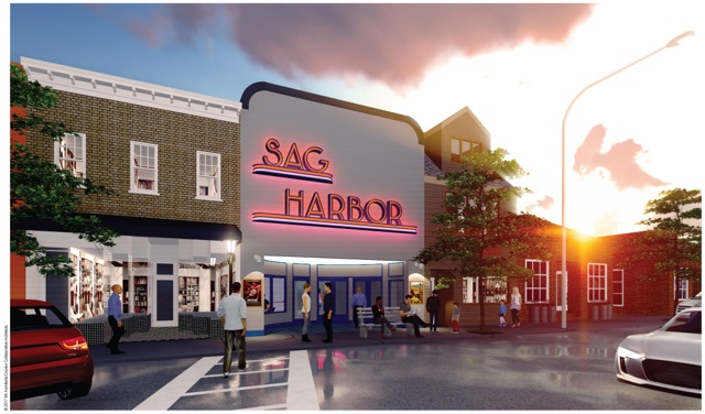 Rendering of the redone Sag Harbor Cinema