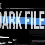 The Dark Files logo for History Channel