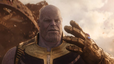 "Josh Brolin as Thanos in ""Avengers: Infinity War"""