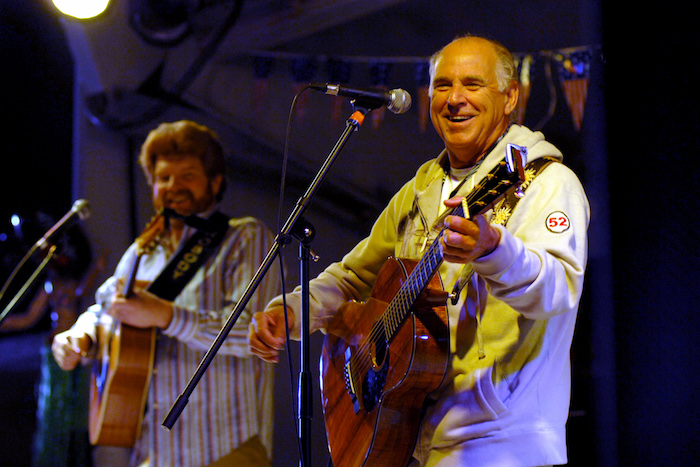 Jimmy Buffett Awarded U.S. Naval Academy's Highest Civilian Honor