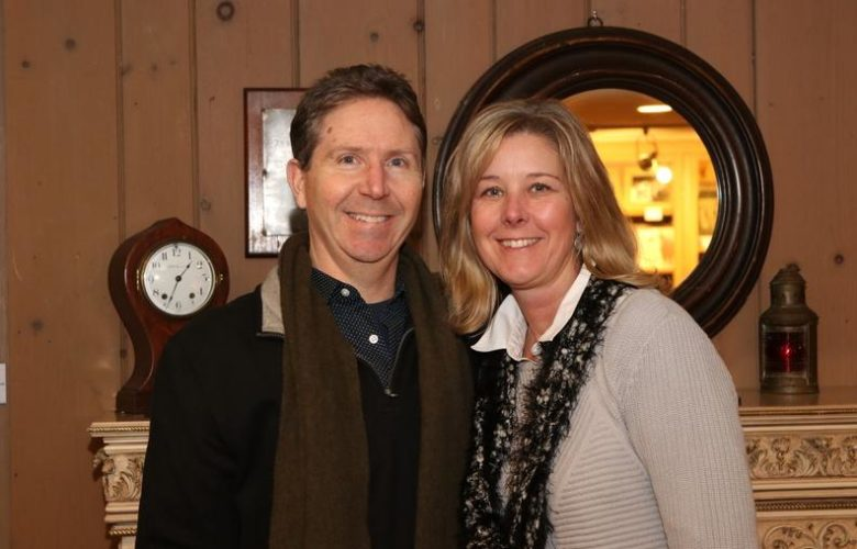 Dan Holmes, Michelle Holmes enjoyed their first visit to The Jazz Loft