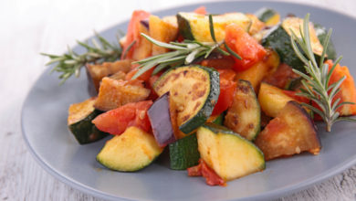 grilled vegetable ratatouille