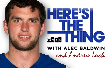 Andrew Luck on Here's the Thing