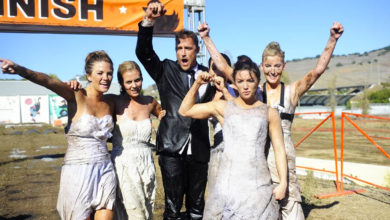 Prince Farming and his prospective brides on ABC's The Bachelor