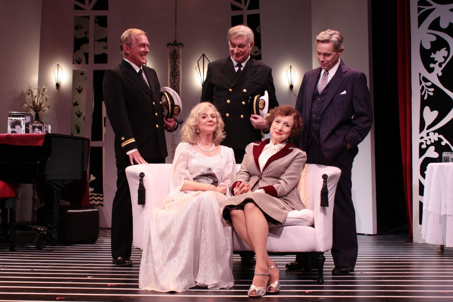 The cast onstage at Guild Hall