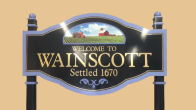 Wainscott welcome sign. Credit: Courtesy East Hampton Town