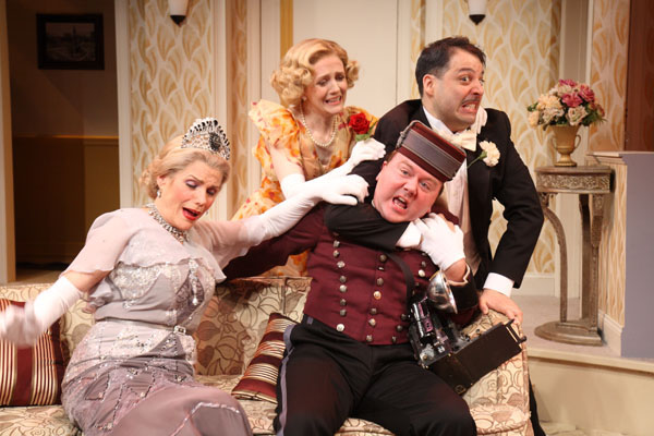 The Cast of Opera Gone Wild at Bay Street Theatre, photo by Jerry Lamonica