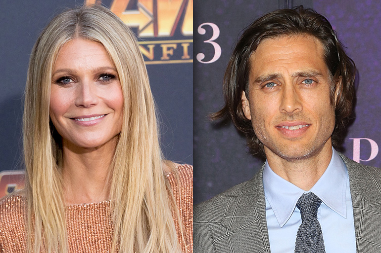 Gwyneth Paltrow and Brad Falchuk 2018