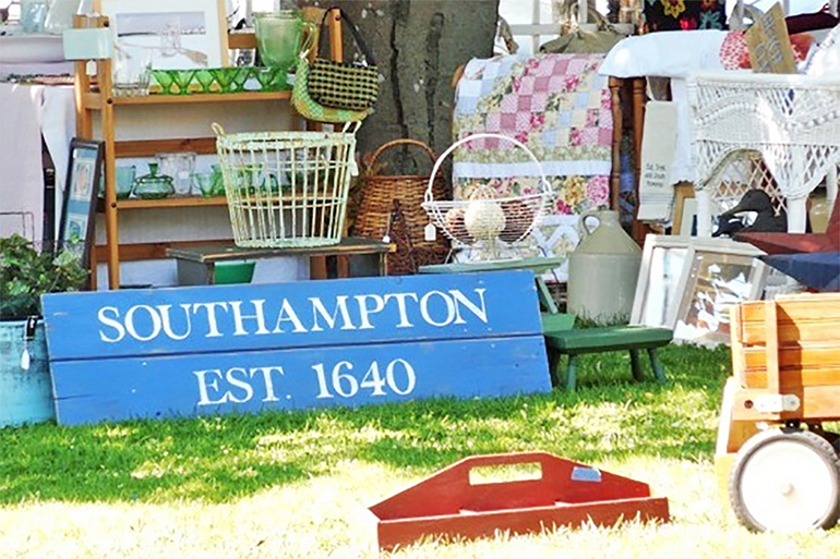 You won't have to hunt very hard to find Southampton treasures and collectables at this fair, Photo: Courtesy Southampton Historical Museum