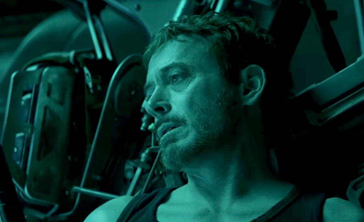 Robert Downey Jr. in the Avengers: Endgame trailer