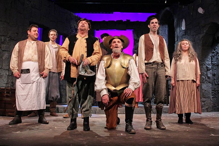 "Hampton Theatre Company's ""Man of La Mancha,"" Photo: Tom Kochie"
