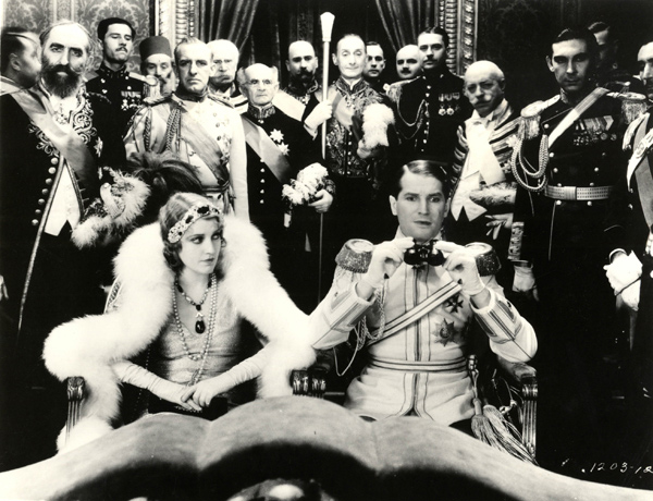 Jeanette MacDonald and Maurice Chevalier in 1929's The Love Parade