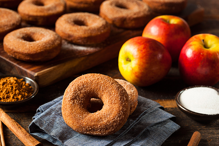 Apple cider donuts are a fall must