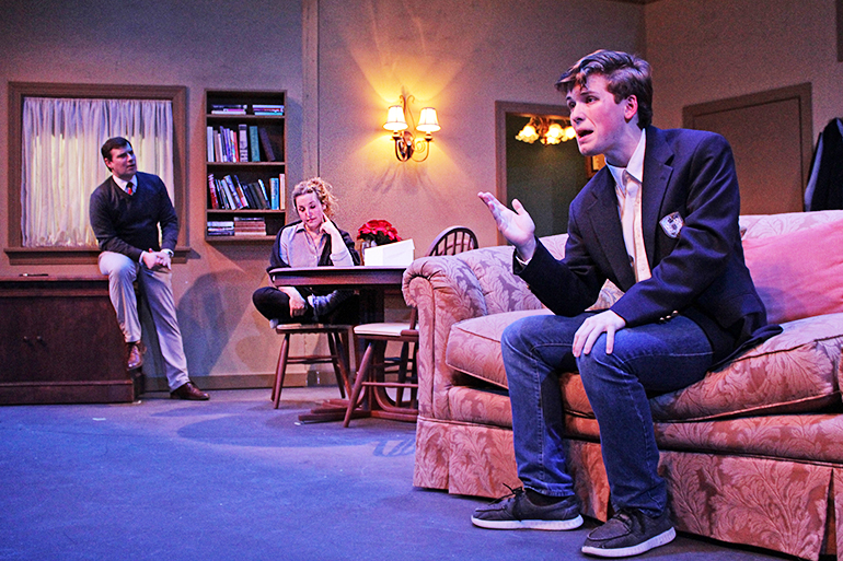 "Hampton Theatre Company performing ""Admissions"""