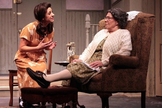 "Rebecca Edana and Diana Marbury in ""Lost in Yonkers"""