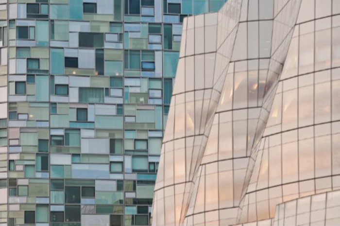 """""""Gehry Meets Nouvel"""" by Mike McLaughlin, Photo: William Ris Gallery"""