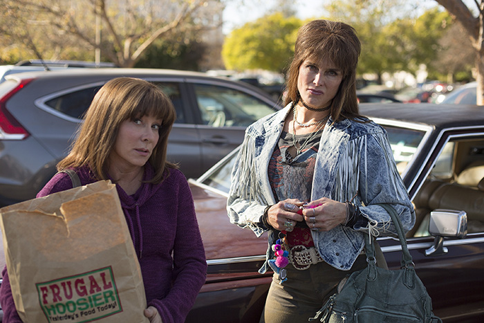 """Patricia Heaton and Brooke Shields in """"The Middle"""""""