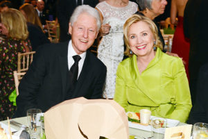 Bill and Hillary Clinton in 2014
