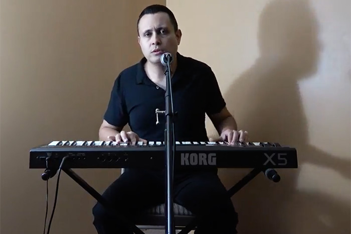 """Frank Cuzzola performs """"Love-n-Tears"""""""