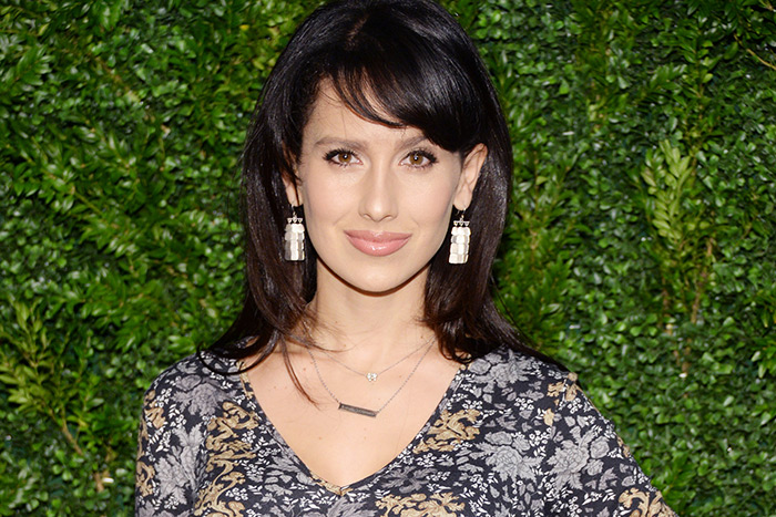 Hilaria Baldwin was honored with the Wellness Foundation Illumination Award on Saturday