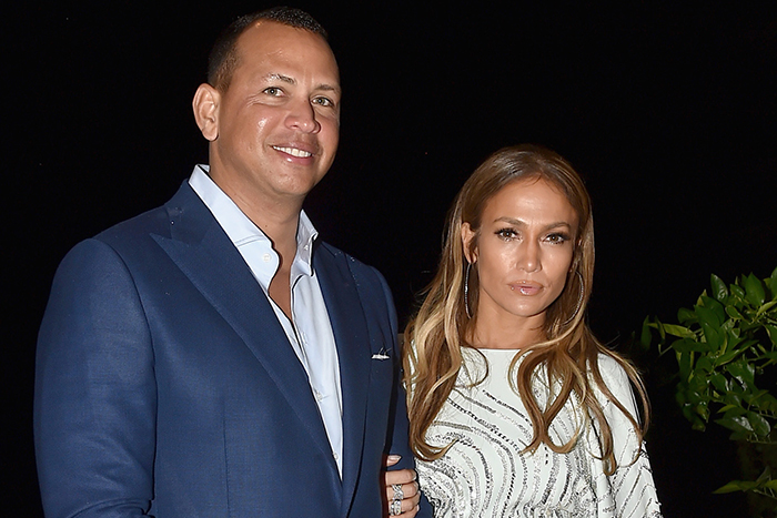 Jennifer Lopez and Alex Rodriguez at Apollo in the Hamptons
