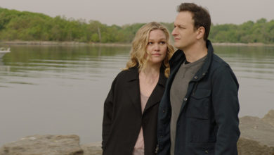 """Julia Stiles and Josh Charles in """"The Drowning"""""""