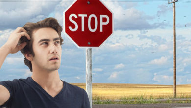 Stop sign confusion in the Hamptons
