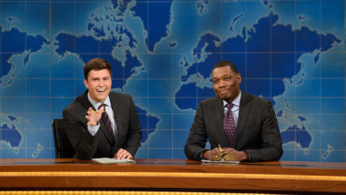 Colin Jost and Michael Che host Weekend Update