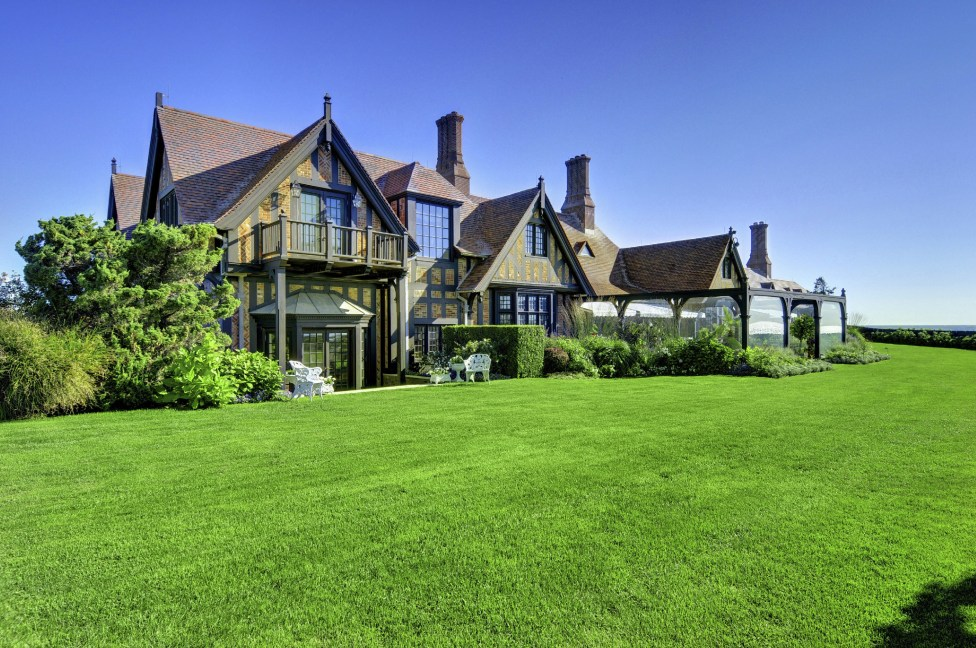 Wooldon Manor is the most expensive residence listed on the Hamptons real estate market.