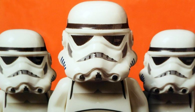 Lego minifigure Stormtrooper photo by Dale May