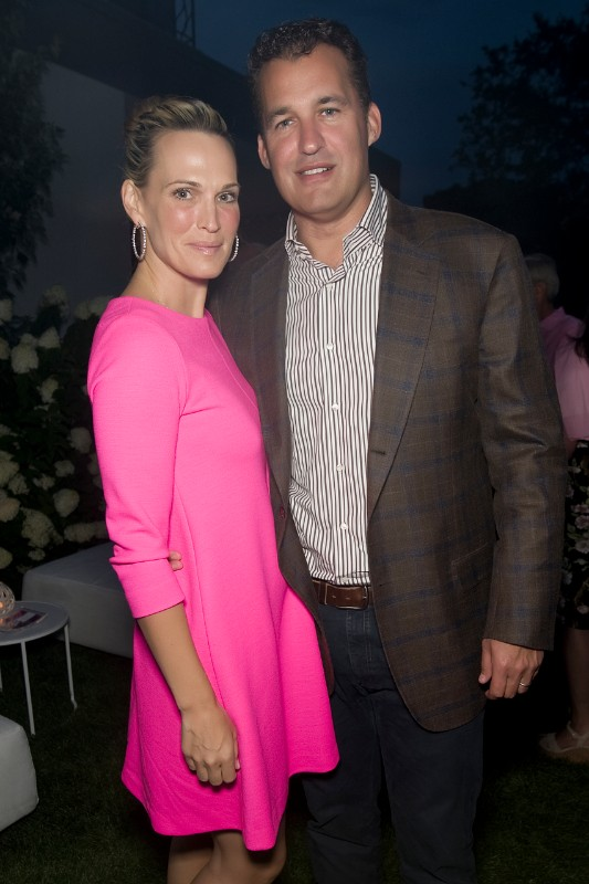 Molly Sims and Scott Seaberg.