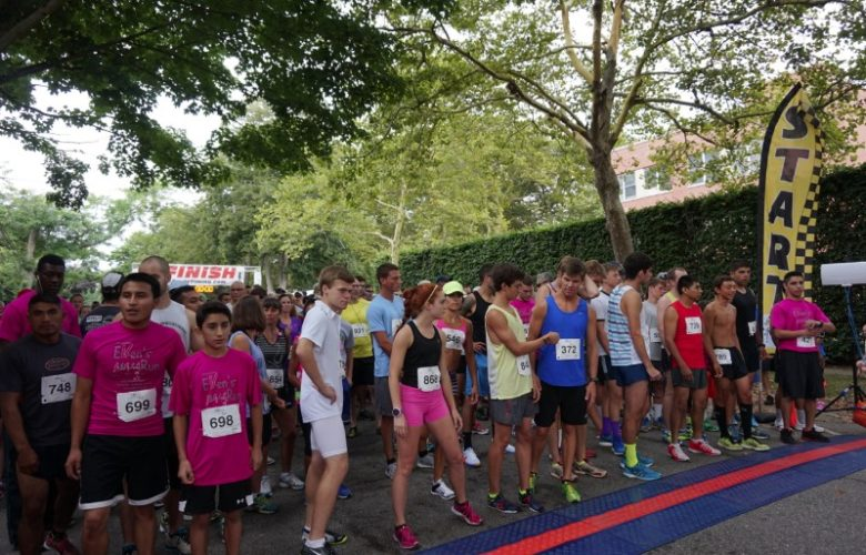 Minutes before the start
