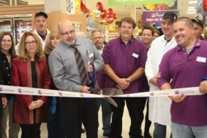 Stop & Shop grand opening ribbon cutting ceremony