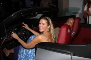 Heather Haux tests out the Porsche 911 Turbo