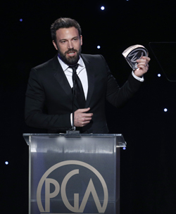 Ben Affleck earns the PGA for Argo